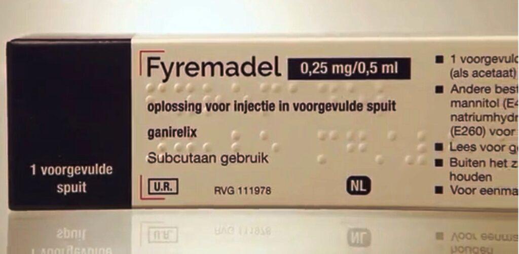 Fyremadel - Ganirelix injection 0.5mg/0.5ml